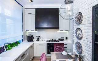 Кухня 9 кв с барной стойкой: фото