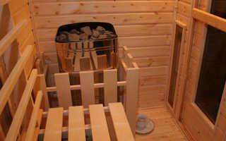 Как построить сауну в квартире