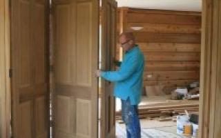 Установка межкомнатных дверей своими руками – правильная технология работ