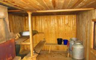 Баня в гараже своими руками: этапы строительства