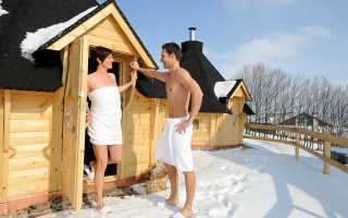 Как нырять после бани в снег: польза, показания и противопоказания