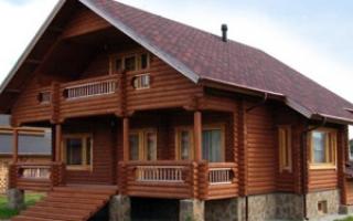 Дома из кругляка: плюсы и минусы, этапы строительства