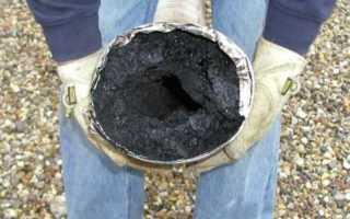 Как почистить дымоходы в печи народными средствами