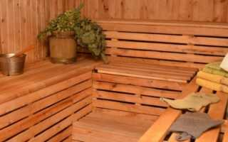 Внутренняя отделка парной бани своими руками: советы