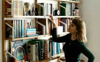 Книжные полки в виде букв: советы по выбору мест хранения