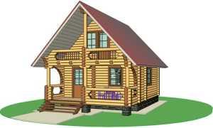 Дом с баней под одной крышей: проекты на фото