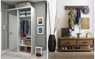 Хранение верхней одежды в прихожей: рациональные идеи на фото