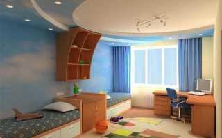 Как правильно расставить мебель в маленькой детской комнате