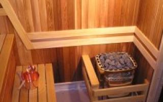 Встроенная сауна в квартире: пошаговый мастер-класс
