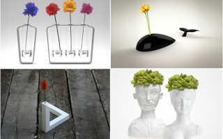 Модные вазы для цветов в подборке фото