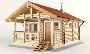 Одноэтажная баня с комнатой отдыха: особенности проектирования