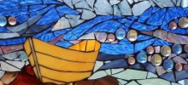 Мозаичный пол своими руками: примеры на фото