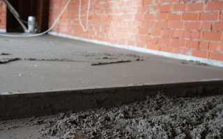 Цементно-песчаная стяжка: как сделать своими руками, технология работ