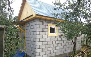 Баня из шлакоблока: плюсы и минусы, как построить