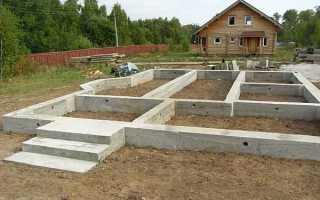 Расчет ленточного фундамента – нагрузка, расход бетона, расчет осадки