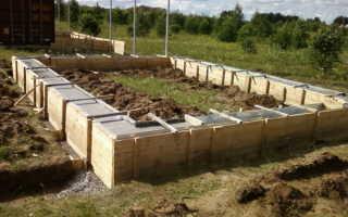 Фундамент для бани из бруса своими руками – пошаговая инструкция