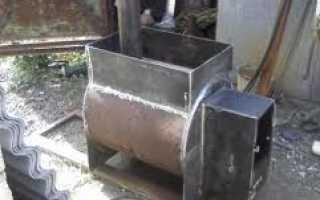 Металлические печи для бани: пример устройства самоделки