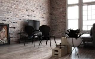 Чем отделать стены в стиле лофт: самые бюджетные материалы