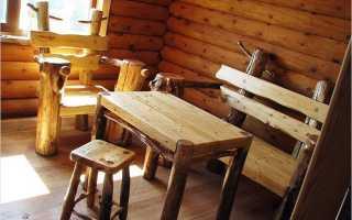 Стол в баню своими руками из дерева: описание