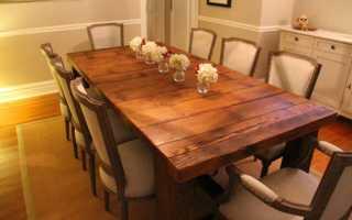 Круглый или прямоугольный стол для маленькой кухни: что выбрать