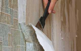 Как удалить старые обои с бетонных стен: простая инструкция