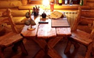 Мебель для бани из дерева: стилизуем деревянную мебель своими руками