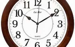 Красивые настенные часы в гостиную: фото
