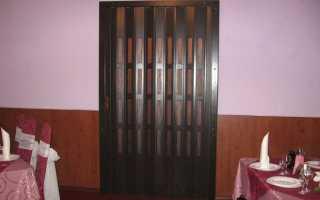 Как установить двери-гармошки: пошаговая инструкция