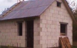 Баня из газосиликатных блоков: личный опыт строительства
