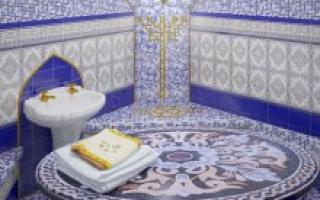 Турецкая баня хамам – конструкция, внутреннее устройство, польза и вред
