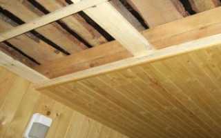Подшивной потолок в бане: разбор конструкции и самостоятельный монтаж