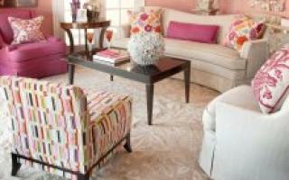 Сочетание дивана и кресел: удачные примеры на фото
