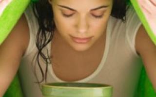 Паровая ванночка для лица от черных точек: приготовление и применение