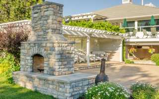 Баня с барбекю: строительство кирпичной печи на веранде бани